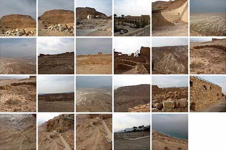 Flickr-Set mit den Fotos von Massadah und En Gedi