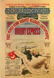 Orient Express Werbeplakat