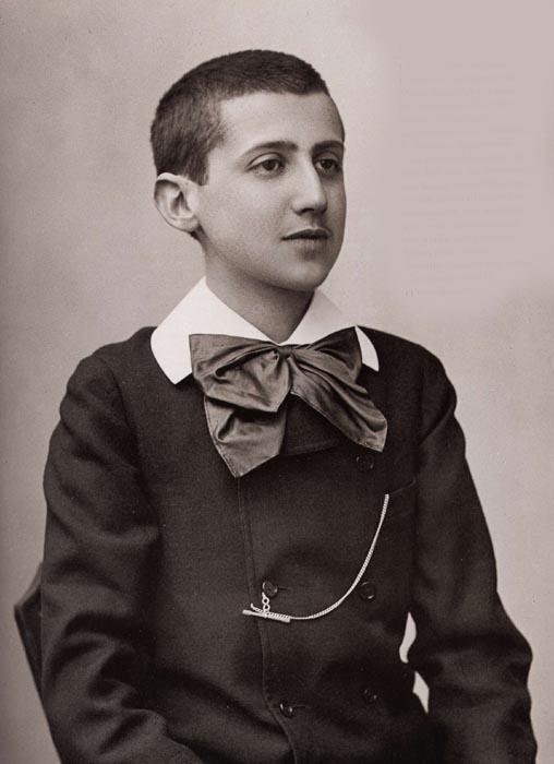 Marcel Proust mit 16 Jahren