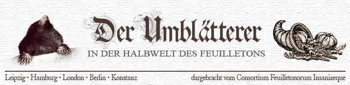 Der Umblätterer - Titelbild