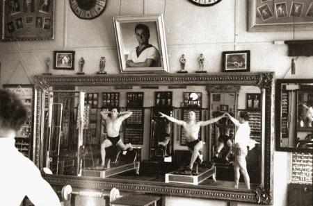 Das Studio von Joseph Pilatus in New York